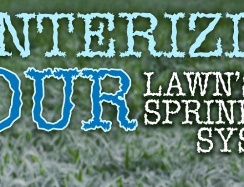 Winterizing your lawn's irrigation system in Houston, Texas