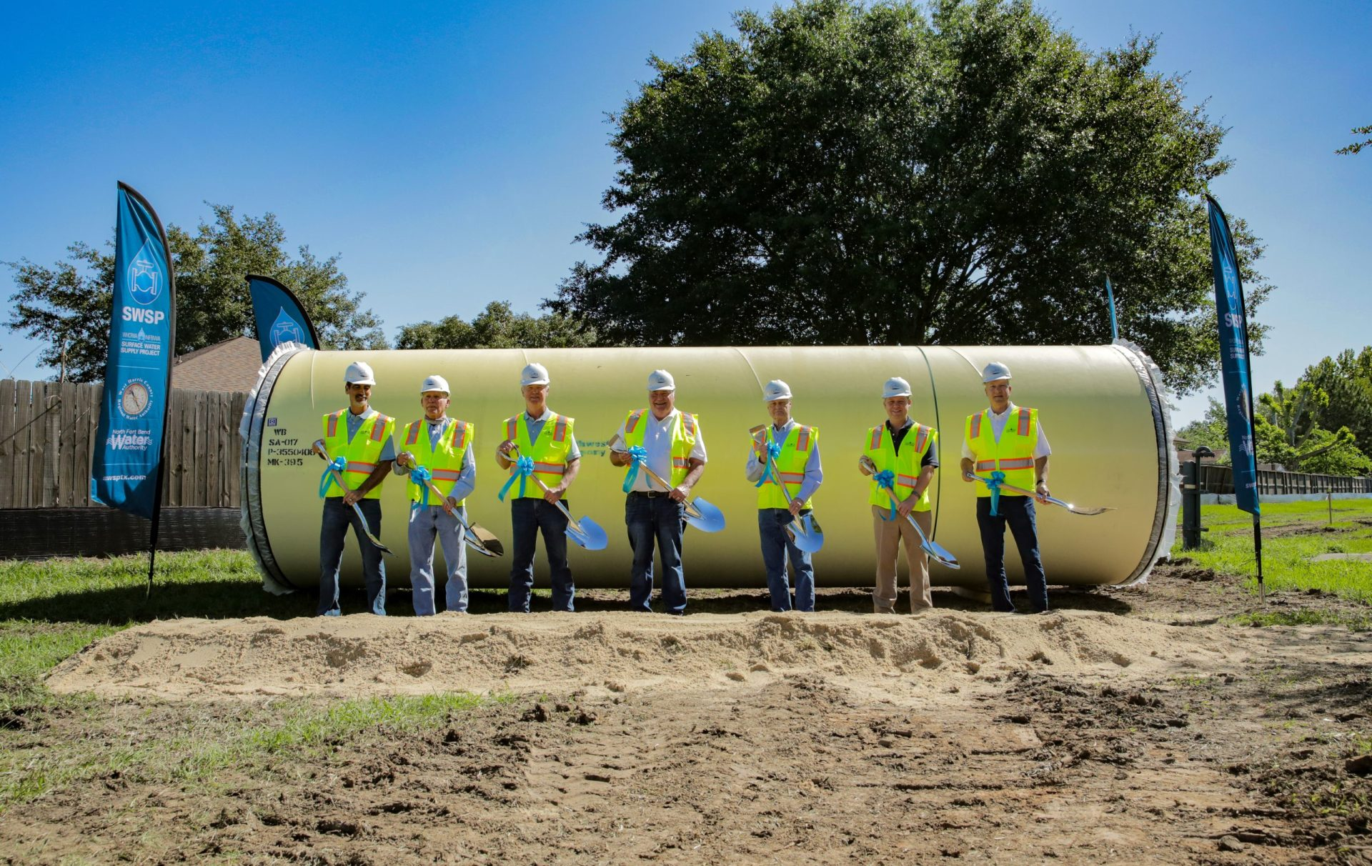 Groundbreaking Surface Water Supply Project