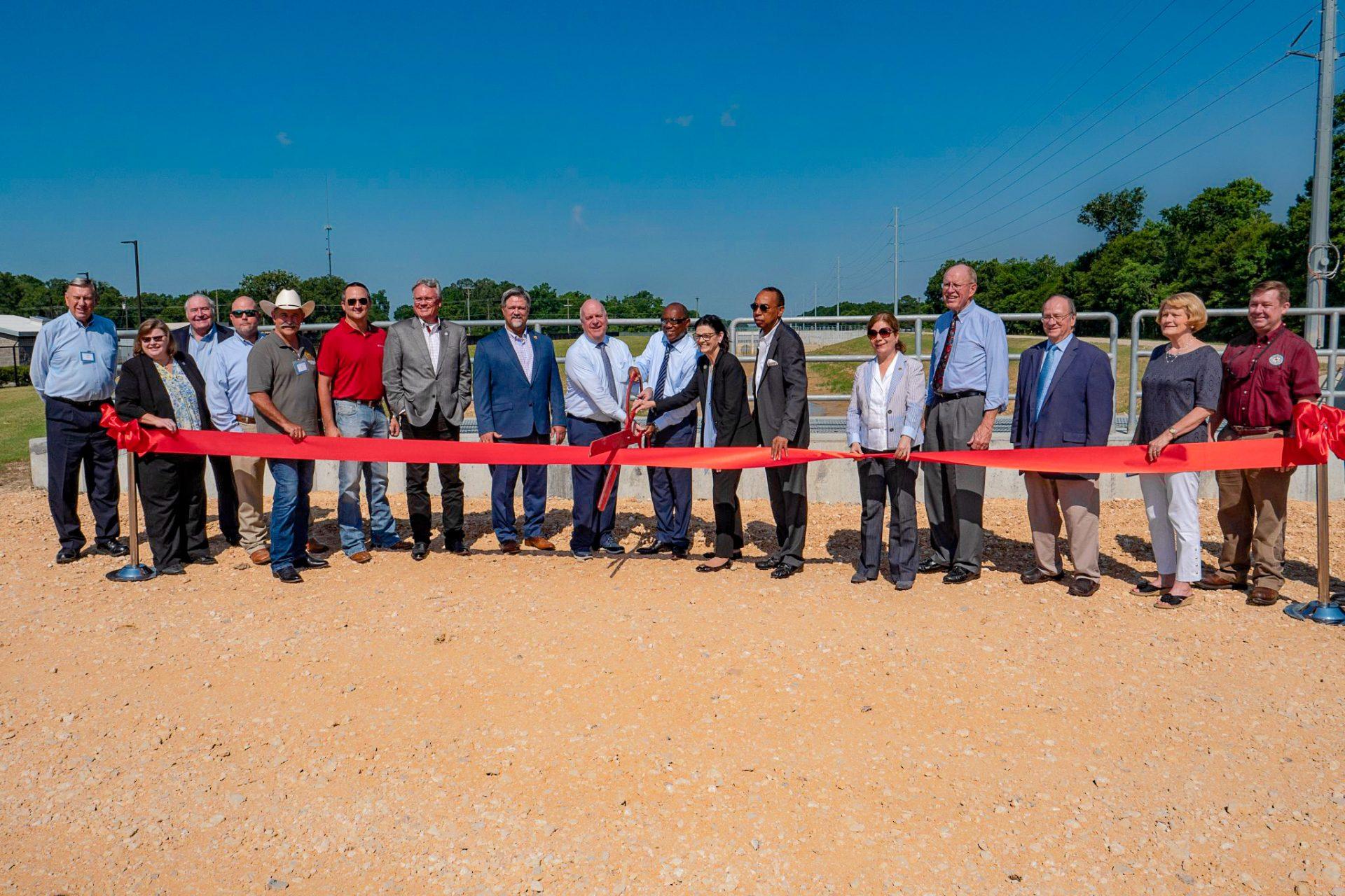 Luce Bayou Project ribbon cutting grand opening